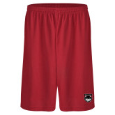 Performance Classic Red 9 Inch Short-Wolves Shield