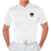 Callaway Opti Vent White Polo-Wolves Shield