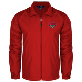 Full Zip Red Wind Jacket-Wolves Club