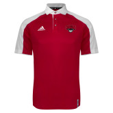 Adidas Modern Red Varsity Polo-Primary Mark