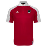 Adidas Modern Red Varsity Polo-Wolves Shield