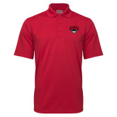 Red Mini Stripe Polo-Primary Mark