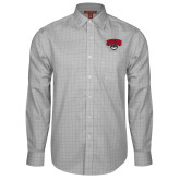 Red House Grey Plaid Long Sleeve Shirt-Wolves Club