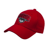 Red Heavyweight Twill Pro Style Hat-Wolves Club