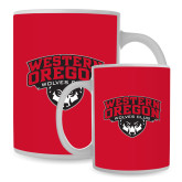 Full Color White Mug 15oz-Wolves Club