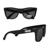Black Sunglasses-Word Mark Flat