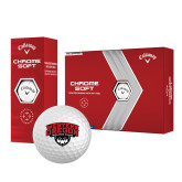 Callaway Chrome Soft Golf Balls 12/pkg-Wolves Club