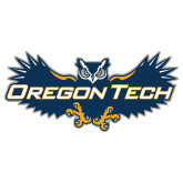 Extra Large Decal-Oregon Tech Owl, 18 inches wide