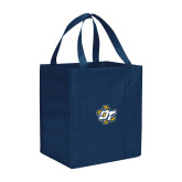 Non Woven Navy Grocery Tote-OT Claw