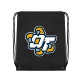 Black Drawstring Backpack-OT Claw