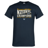 Navy T Shirt-2018 Womens National Cross Country Champions