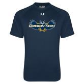 Under Armour Navy Tech Tee-Oregon Tech Owl