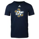 Adidas Navy Logo T Shirt-OT Claw