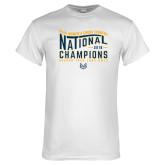 White T Shirt-2018 Womens National Cross Country Champions