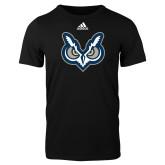 Adidas Black Logo T Shirt-Primary Mark