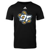 Adidas Black Logo T Shirt-OT Claw