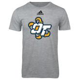 Adidas Sport Grey Logo T Shirt-OT Claw