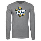 Grey Long Sleeve T Shirt-OT Claw