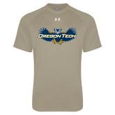 Under Armour Vegas Gold Tech Tee-Oregon Tech Owl