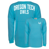 Turquoise Game Day Jersey Tee-Primary Mark