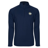 Sport Wick Stretch Navy 1/2 Zip Pullover-OT Claw