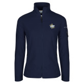 Columbia Ladies Full Zip Navy Fleece Jacket-OT Claw
