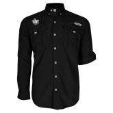 Columbia Bahama II Black Long Sleeve Shirt-OT Claw