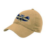 Vegas Gold Twill Unstructured Low Profile Hat-Oregon Tech Owl