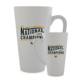 Full Color Latte Mug 17oz-2018 Womens National Cross Country Champions