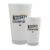 Full Color Glass 17oz-2018 Womens National Cross Country Champions