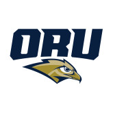 Small Decal-ORU w Mascot, 6 inches wide