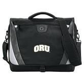 Slope Black/Grey Compu Messenger Bag-ORU