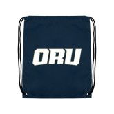 Navy Drawstring Backpack-ORU