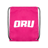 Pink Drawstring Backpack-ORU