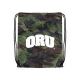 Camo Drawstring Backpack-ORU