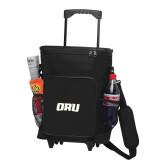 30 Can Black Rolling Cooler Bag-ORU