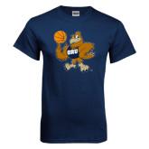 Navy T Shirt-Basketball Eli