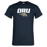 Navy T Shirt-ORU w Mascot