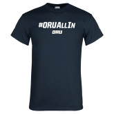 Navy T Shirt-ORU All In