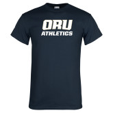 Navy T Shirt-Athletics