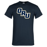 Navy T Shirt-ORU Stacked