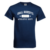 Navy T Shirt-Golden Eagles Stacked