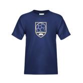 Youth Navy T Shirt-ORU Soccer Shield