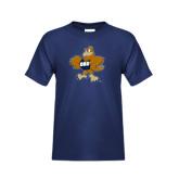 Youth Navy T Shirt-Eli