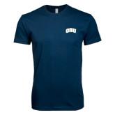 Next Level SoftStyle Navy T Shirt-ORU