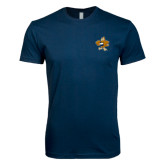 Next Level SoftStyle Navy T Shirt-Eli