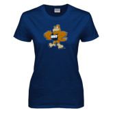 Ladies Navy T Shirt-Eli