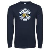 Navy Long Sleeve T Shirt-ORU Circle Mark