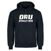 Navy Fleece Hoodie-Athletics