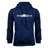 Navy Fleece Hoodie-True ORU Blue